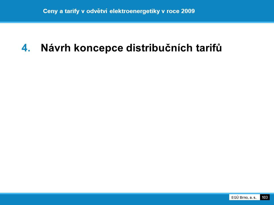 Ceny a tarify v odvětví elektroenergetiky v roce 2009