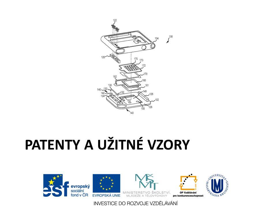 Patenty a užitné vzory