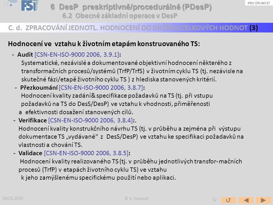 6 DesP preskriptivně/procedurálně (PDesP)