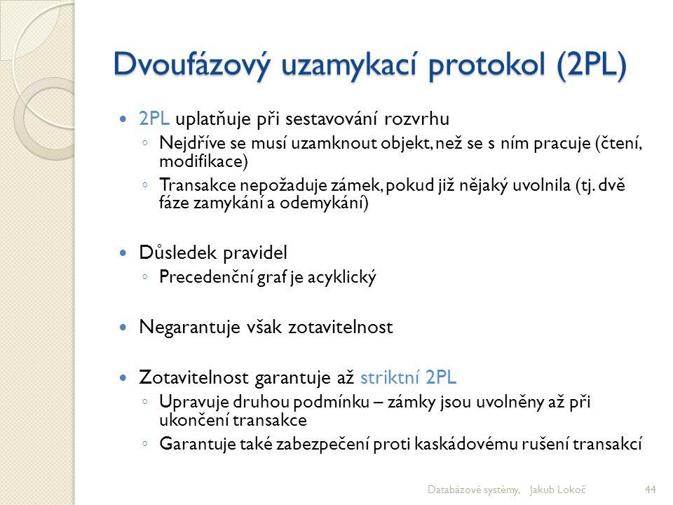 Dvoufázový uzamykací protokol (2PL)