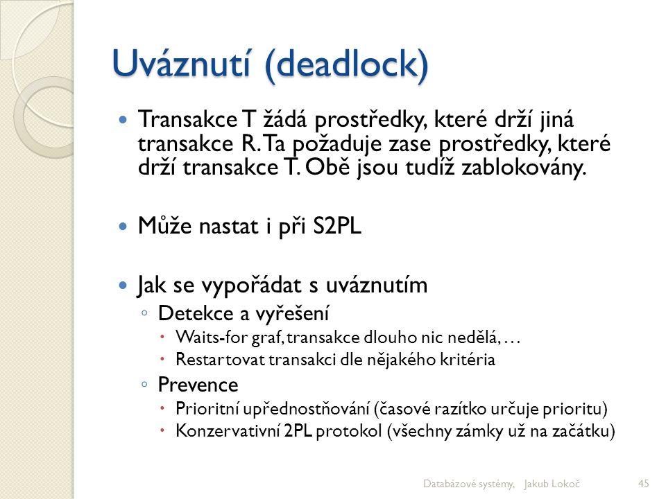 Uváznutí (deadlock)