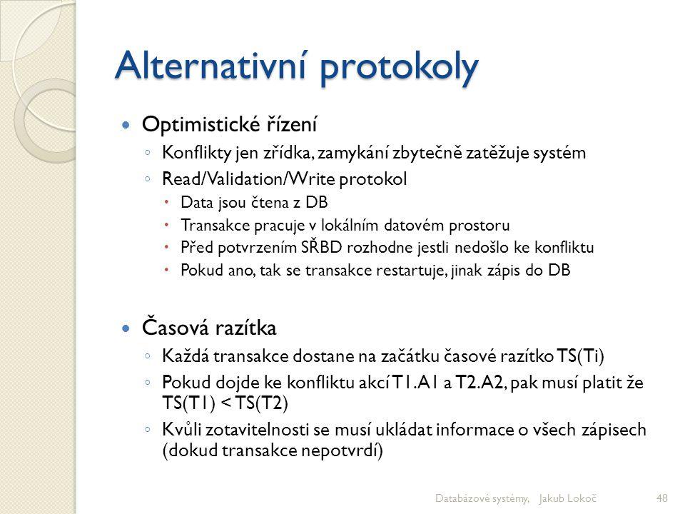 Alternativní protokoly