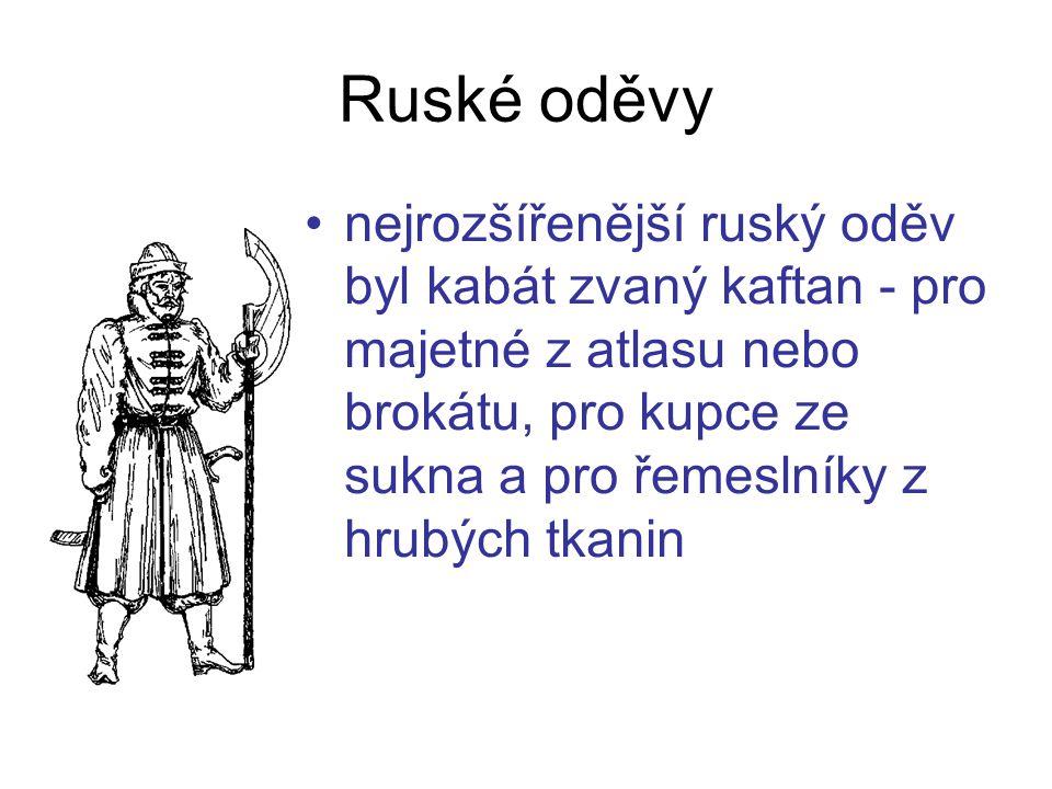 Ruské oděvy