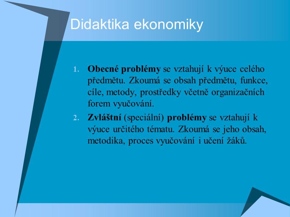 Didaktika ekonomiky