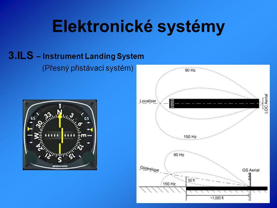 Elektronické systémy 3.ILS – Instrument Landing System