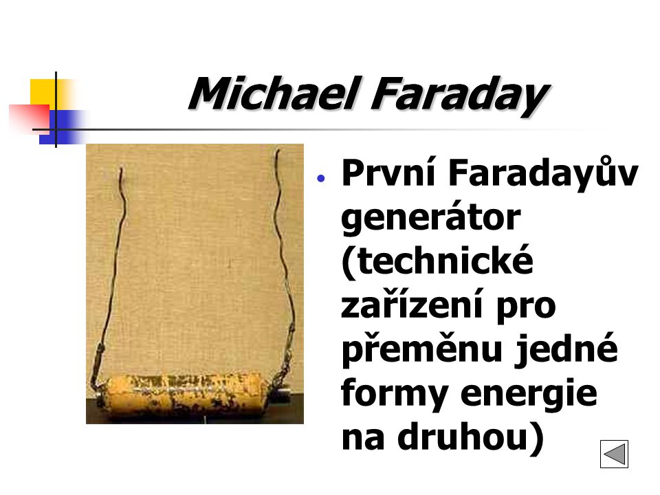 Michael Faraday Michael Faraday