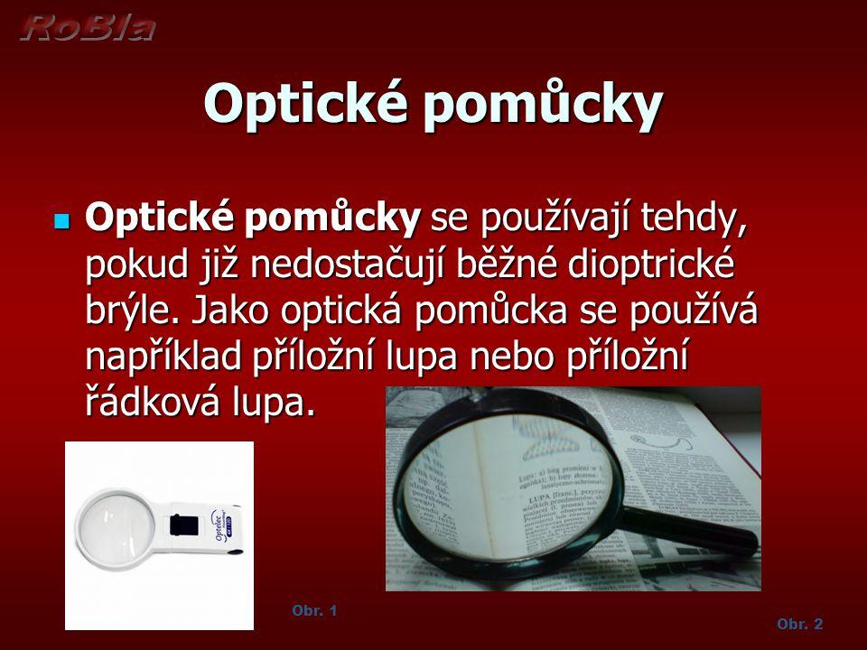 Optické pomůcky