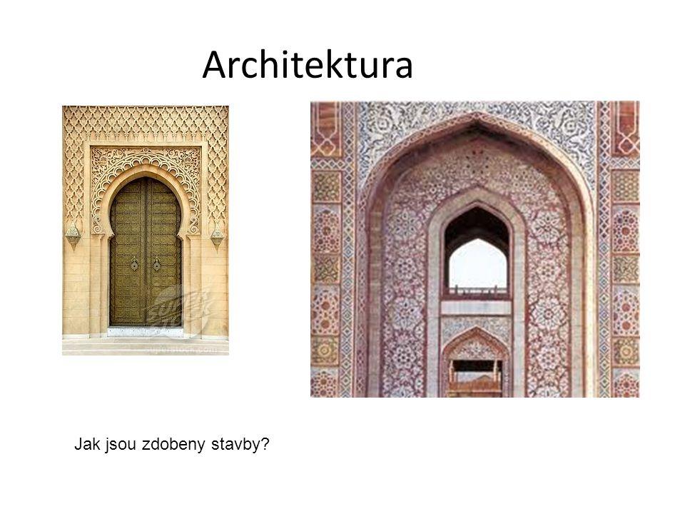 Architektura Jak jsou zdobeny stavby