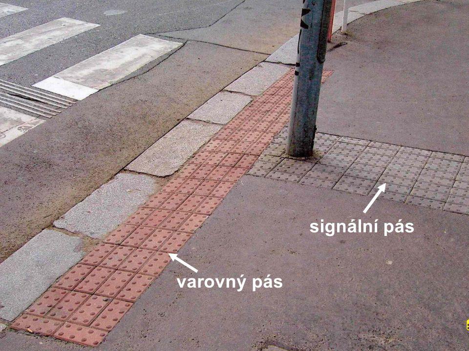 signální pás varovný pás