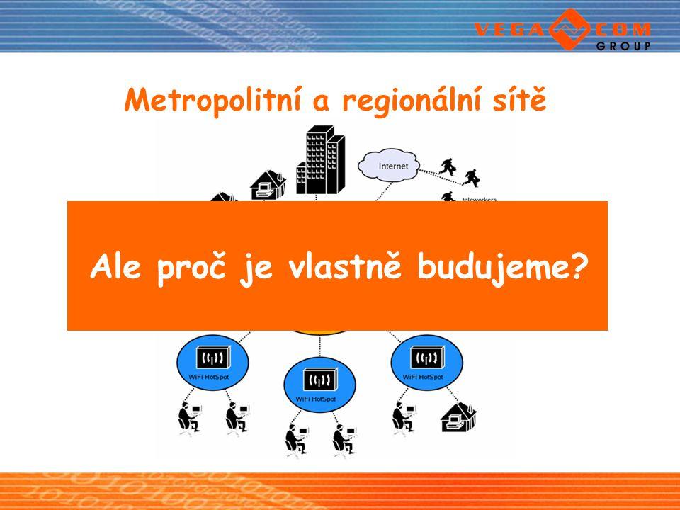 Metropolitní a regionální sítě