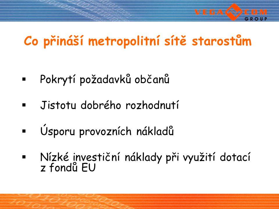 Co přináší metropolitní sítě starostům