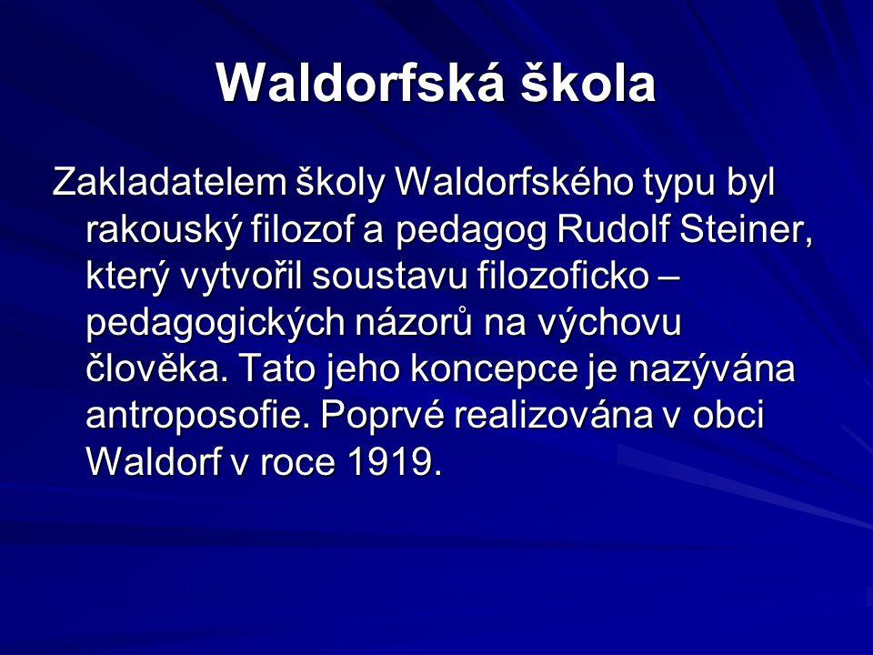 Waldorfská škola
