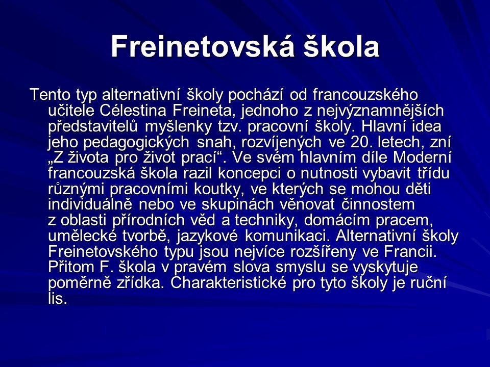 Freinetovská škola