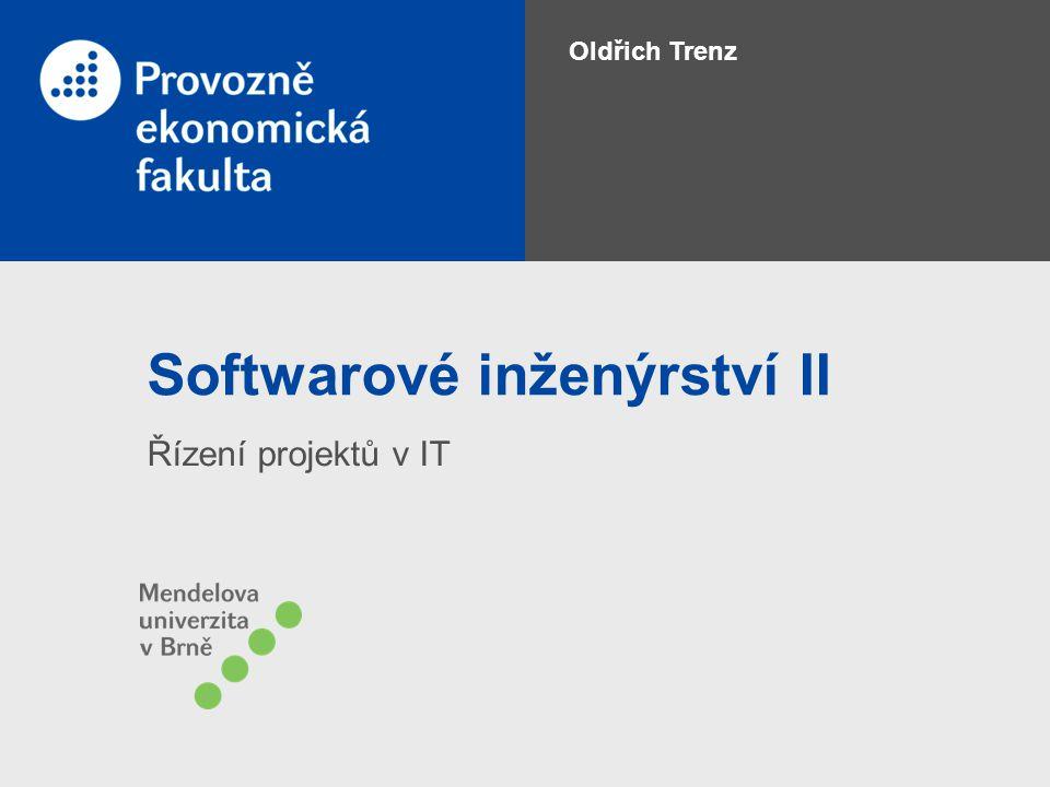 Softwarové inženýrství II