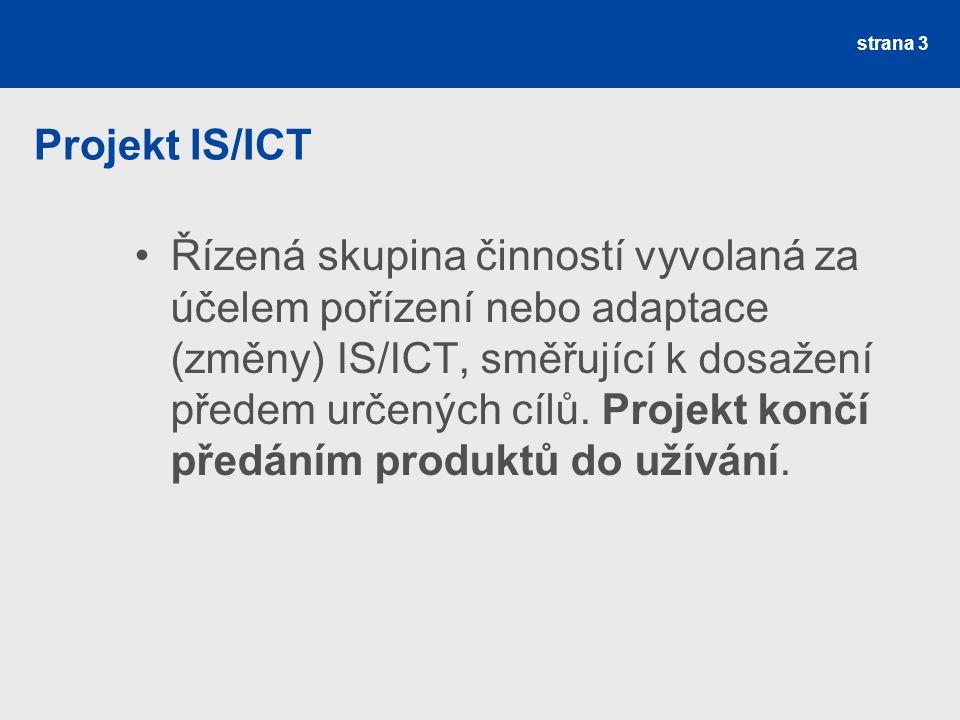 Projekt IS/ICT