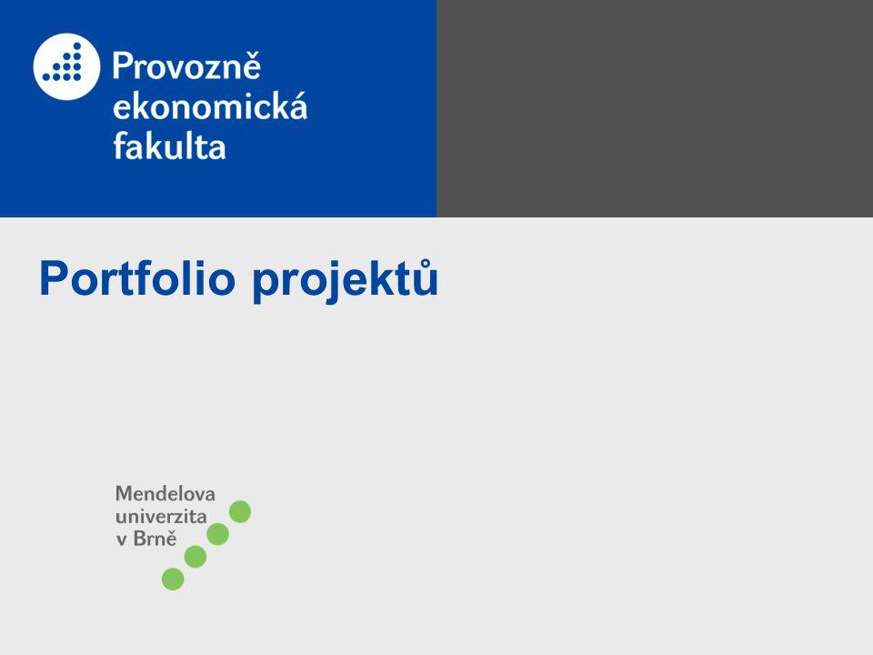 Portfolio projektů