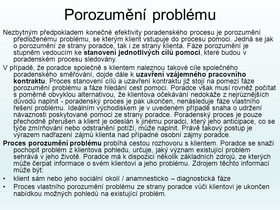 Porozumění problému