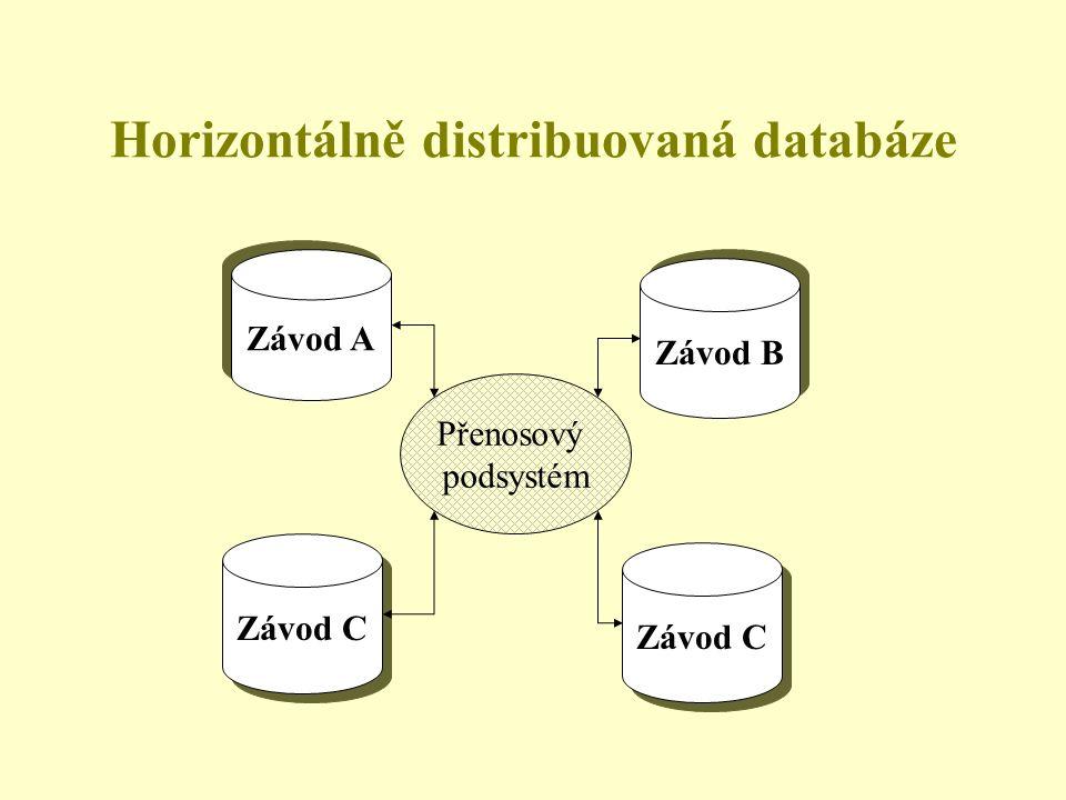 Horizontálně distribuovaná databáze