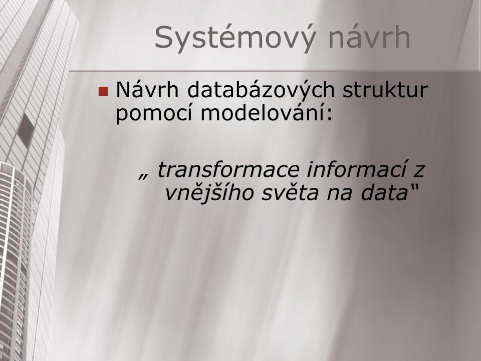 """"""" transformace informací z vnějšího světa na data"""