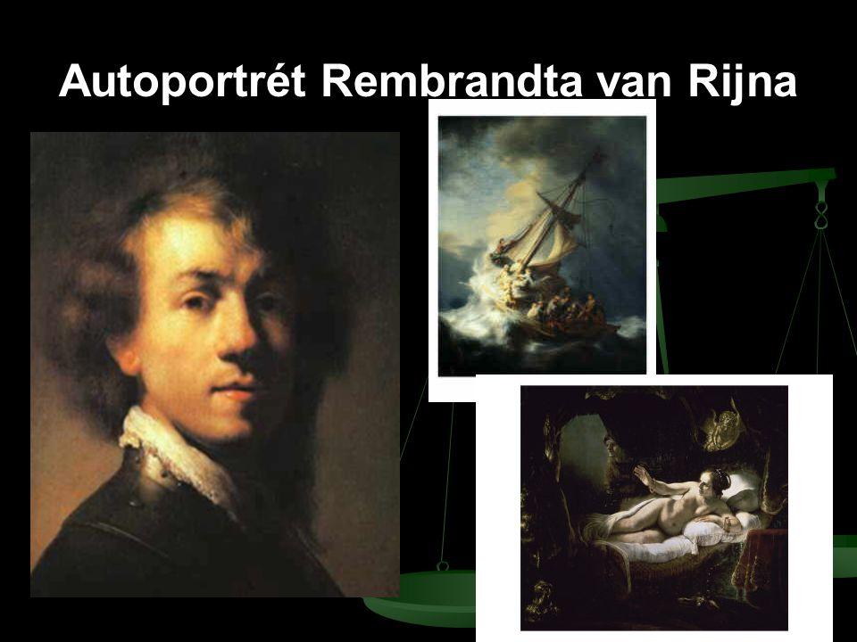 Autoportrét Rembrandta van Rijna