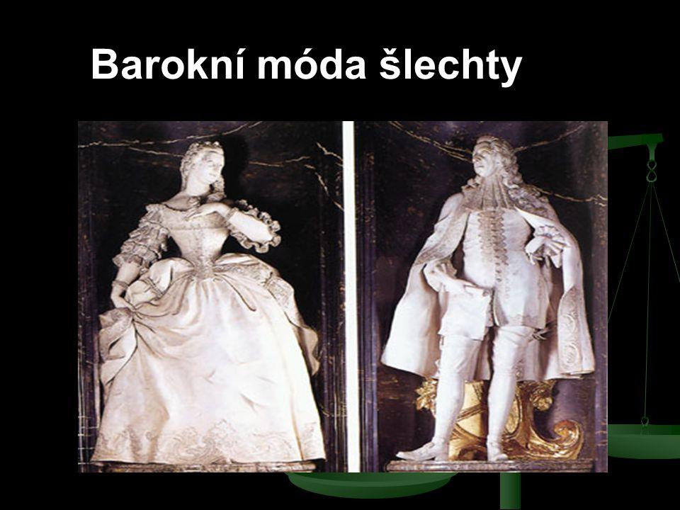 Barokní móda šlechty