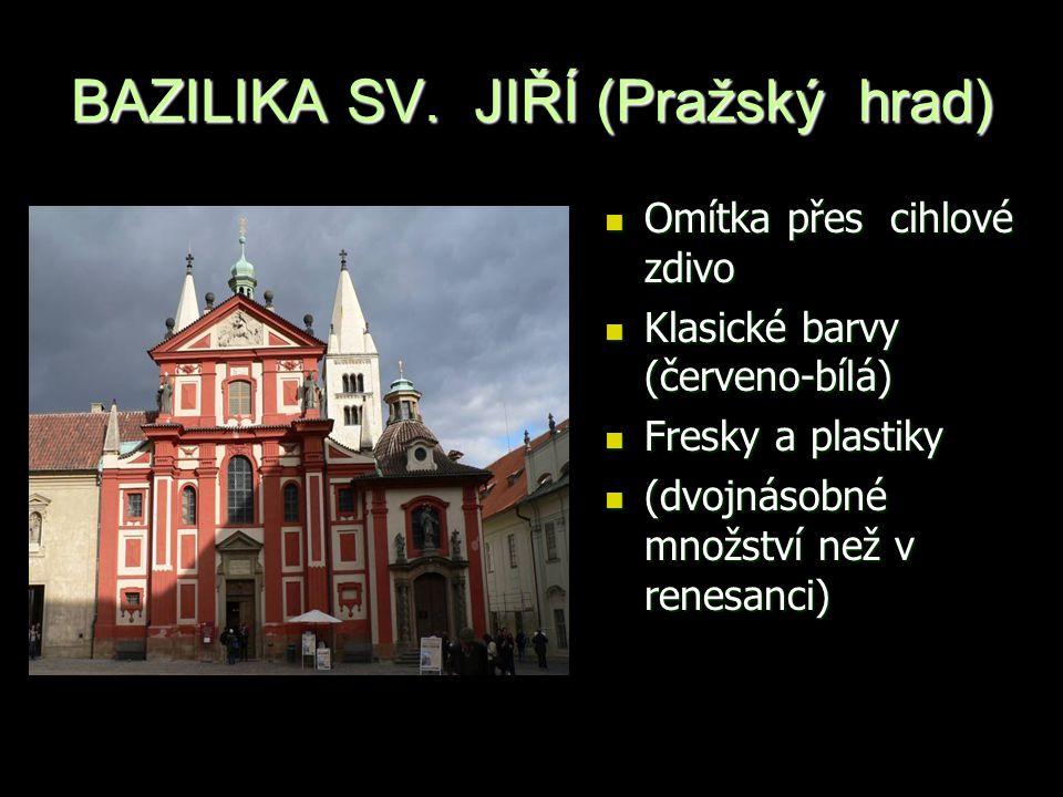 BAZILIKA SV. JIŘÍ (Pražský hrad)