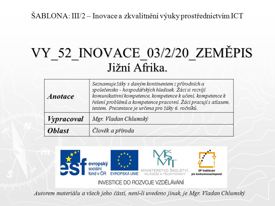 VY_52_INOVACE_03/2/20_ZEMĚPIS