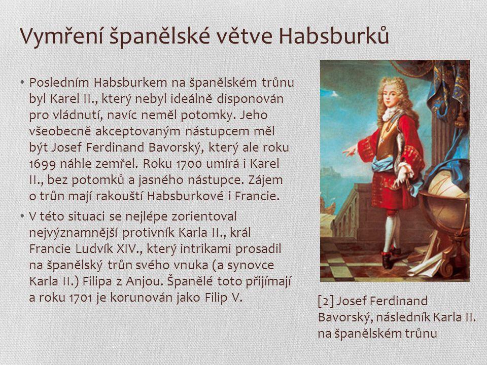 Vymření španělské větve Habsburků