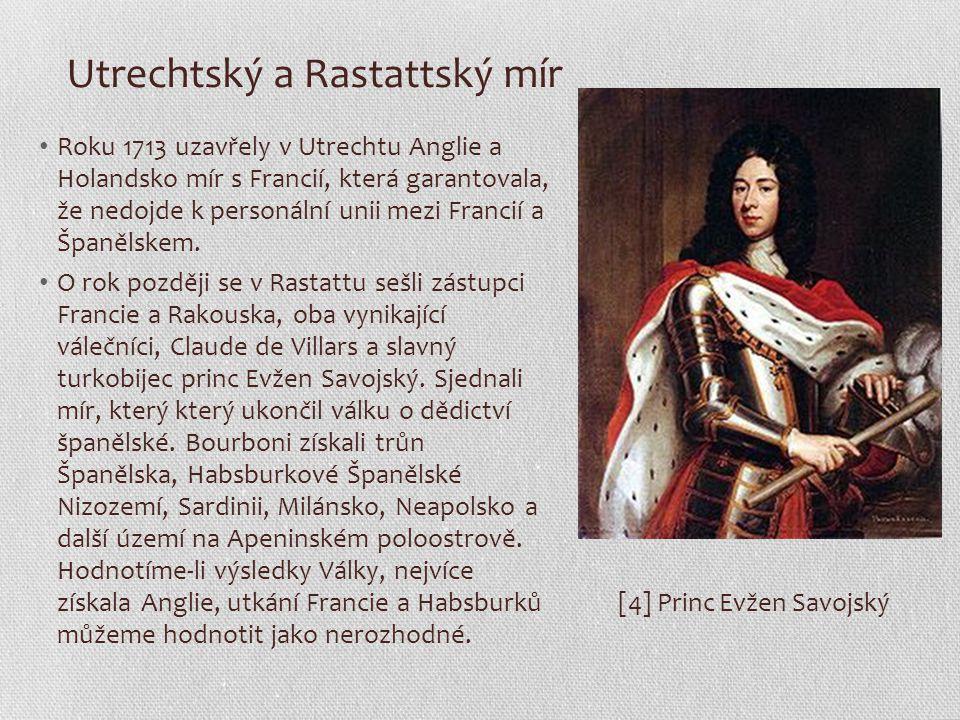 Utrechtský a Rastattský mír