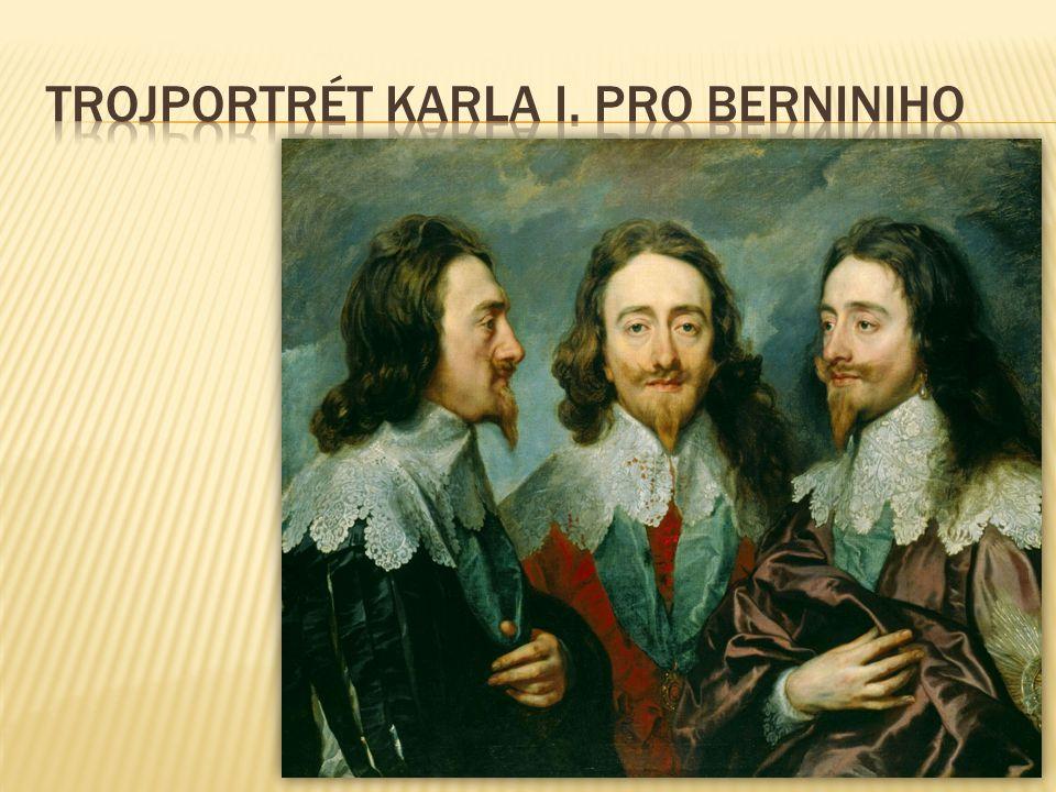 trojportrét Karla I. pro Berniniho