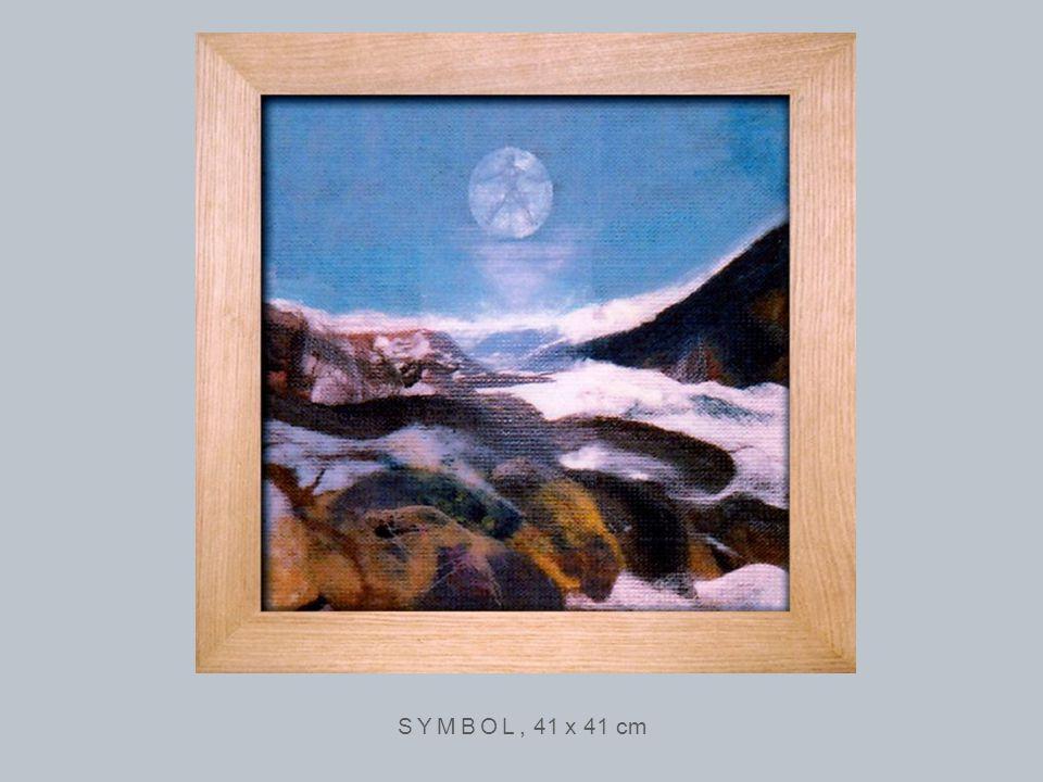 SYMBOL, 41 x 41 cm