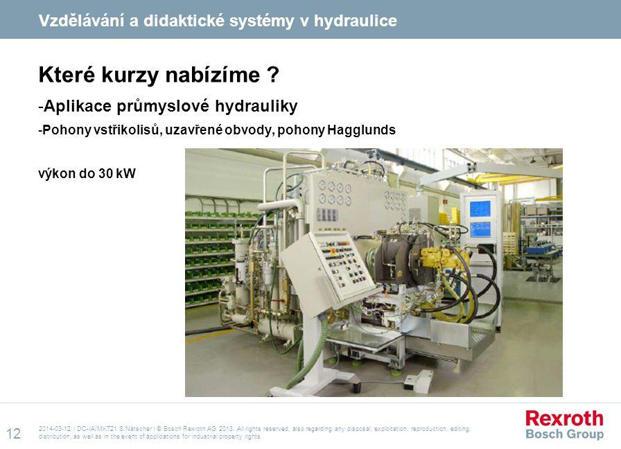 Které kurzy nabízíme Vzdělávání a didaktické systémy v hydraulice