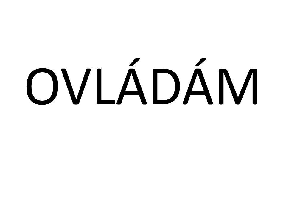 OVLÁDÁM