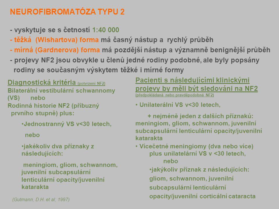 NEUROFIBROMATÓZA TYPU 2