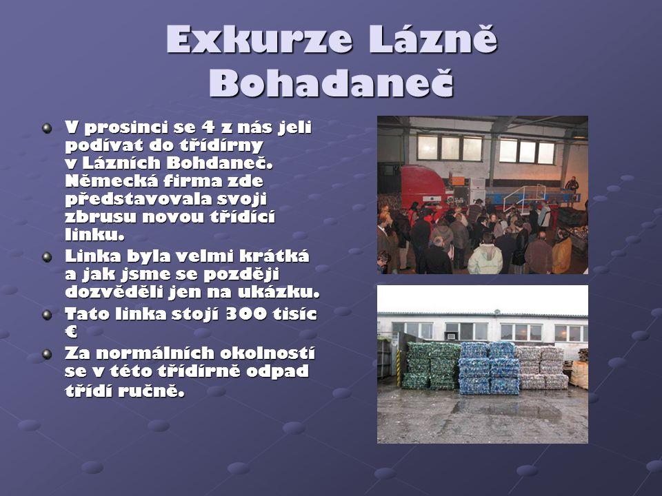 Exkurze Lázně Bohadaneč