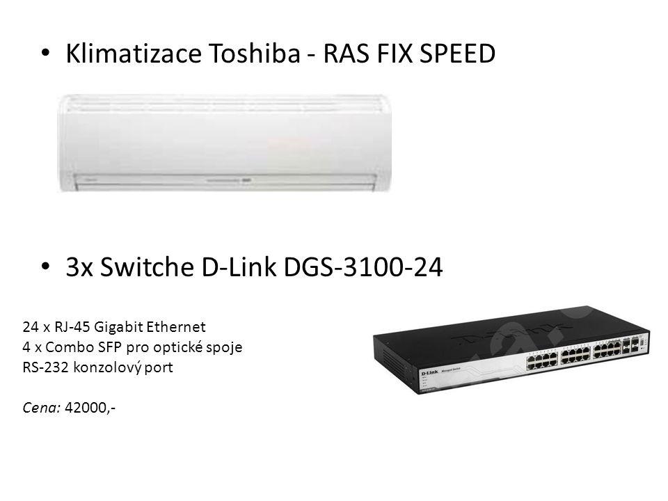 Klimatizace Toshiba - RAS FIX SPEED