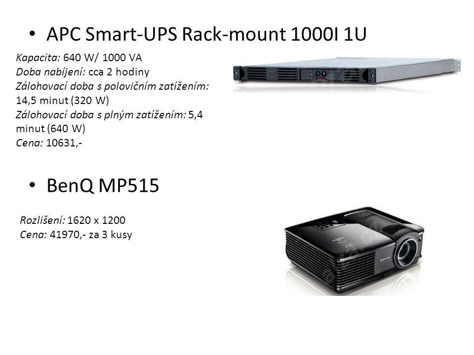 APC Smart-UPS Rack-mount 1000I 1U