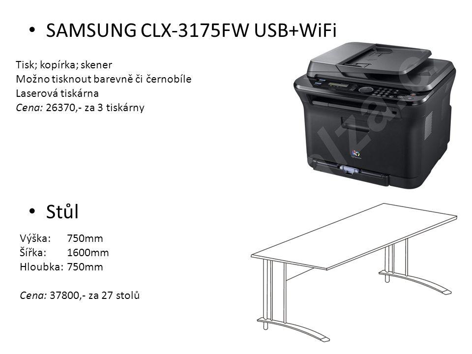 SAMSUNG CLX-3175FW USB+WiFi