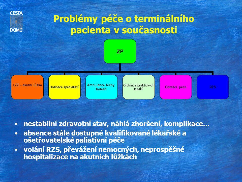 Problémy péče o terminálního pacienta v současnosti