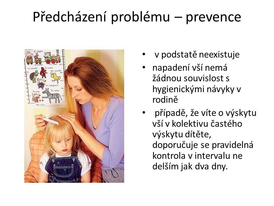 Předcházení problému – prevence