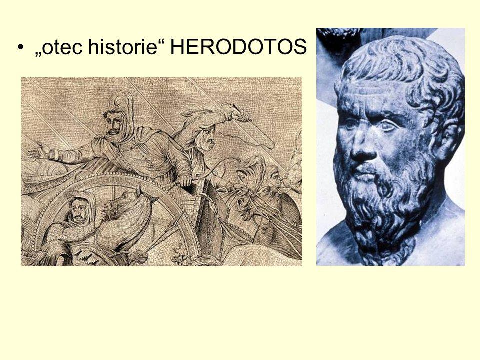 """otec historie HERODOTOS"
