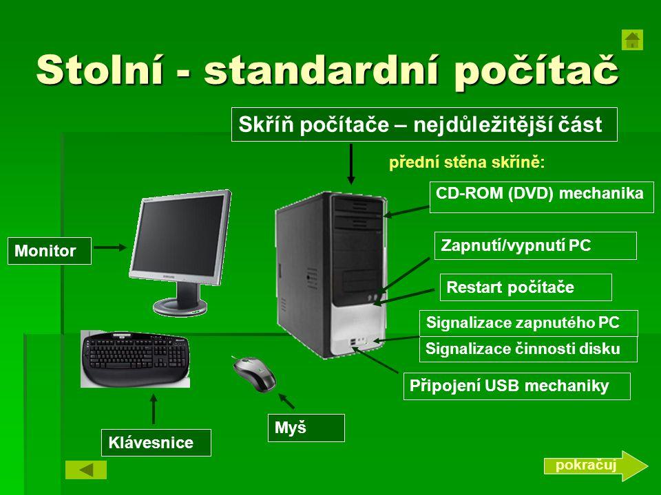 Stolní - standardní počítač
