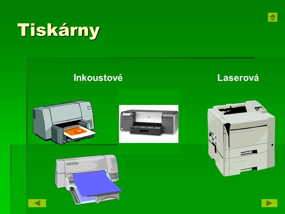 Tiskárny Inkoustové Laserová