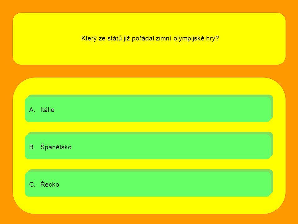 Který ze států již pořádal zimní olympijské hry