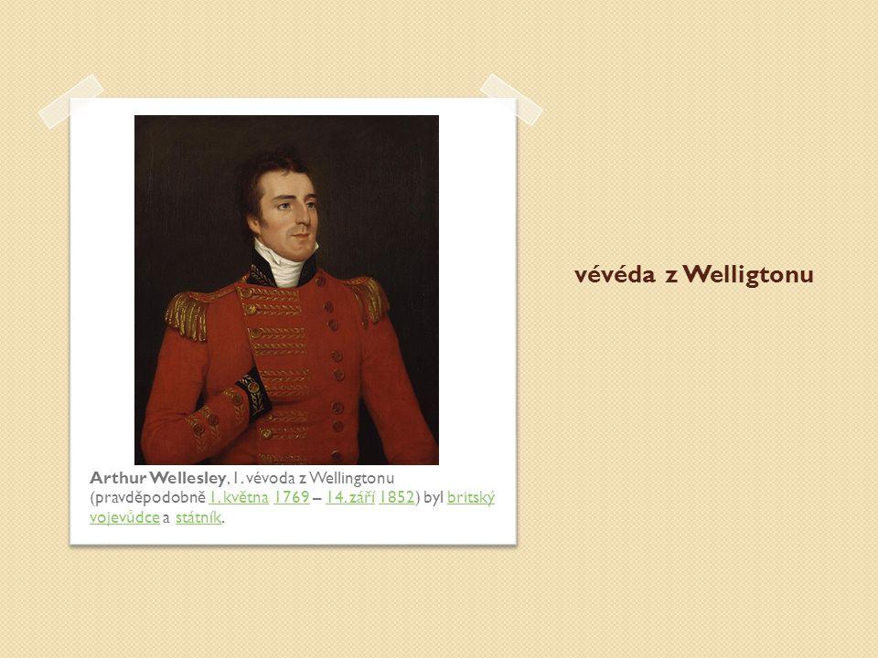 vévéda z Welligtonu Arthur Wellesley, 1. vévoda z Wellingtonu (pravděpodobně 1.
