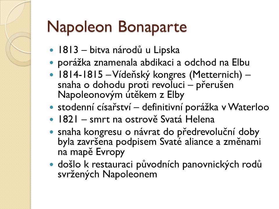 Napoleon Bonaparte 1813 – bitva národů u Lipska