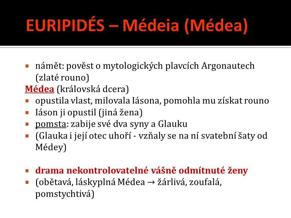 EURIPIDÉS – Médeia (Médea)