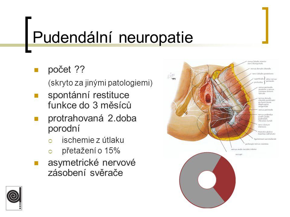 Pudendální neuropatie