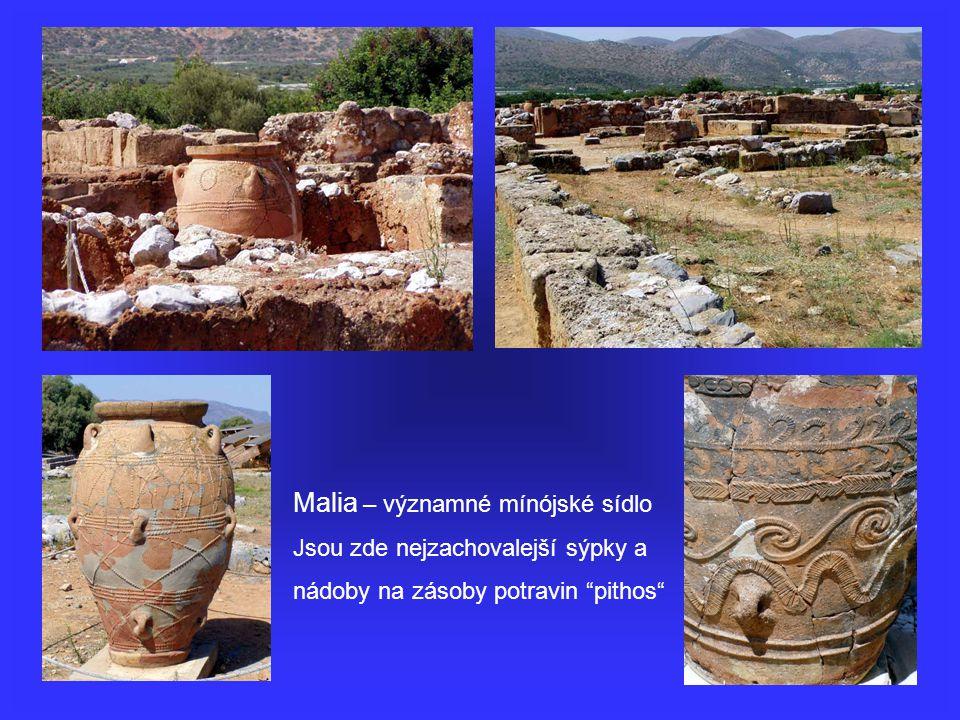 Malia – významné mínójské sídlo