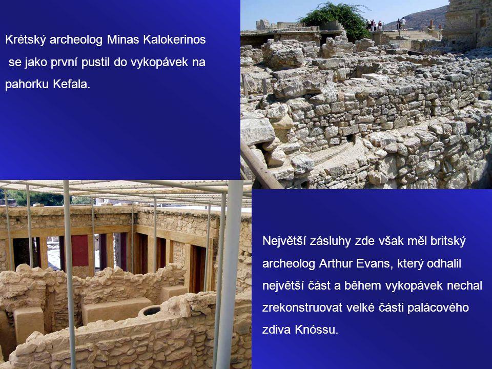 Krétský archeolog Minas Kalokerinos